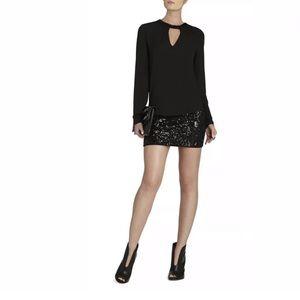 Brand NewBCBGMaxazria PAXTON Sequined Skirt XXS